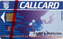 Cable & Wireless Callcard (front)