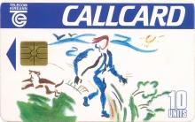 Design a Callcard 1993 Callcard (front)