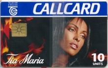 Tia Maria 1995 (A) Callcard (front)