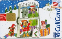 Christmas 1996 General Issue Callcard (front)