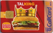 Burger King Callcard (front)