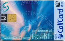 Department of Health Callcard (front)