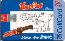 Cadbury's Time Out Callcard (front)
