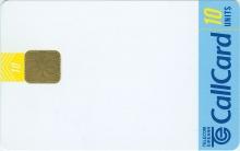 Telecom Eireann Blank Promotion Callcard (front)