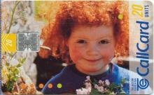 Beautiful Ireland (Tourist) Girl Callcard (front)