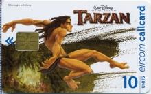 Disney's Tarzan Leaping Callcard (front)