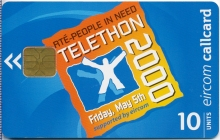 People in Need Telethon 2000 Callcard (front)