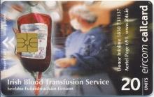 Irish Blood Transfusion Service Callcard (front)