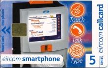 Eircom Smartphone Callcard (front)