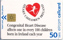 Heart Children Ireland Callcard (front)