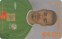 Stephen Reid World Cup 2002 Callcard (front)