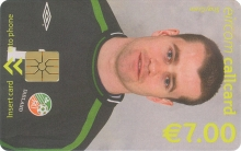 Shay Given World Cup 2002 Callcard (front)