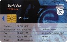 David Fox - IT Director Callcard (front)
