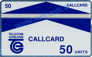 Galway Trial 50u Callcard (front)