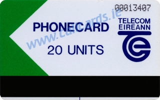 Limerick Trial 20u Callcard (front)
