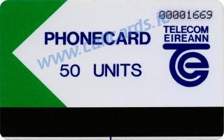 Limerick Trial 50u Callcard (front)