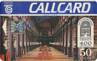 Trinity College Callcard (front)