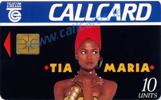 Tia Maria 1993 Callcard (front)