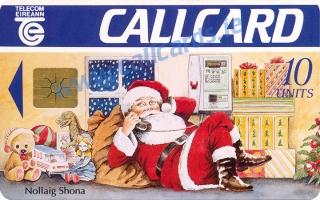 Christmas 1993 Callcard (front)
