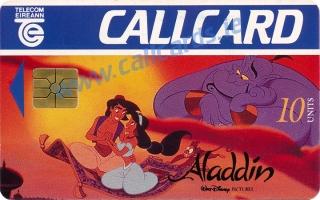 Aladdin Callcard (front)