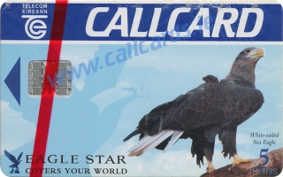 Eagle Star Callcard (front)
