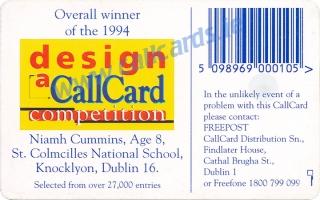 Design a Callcard 1994 Callcard (back)