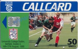 European Hockey 1995 Callcard (front)