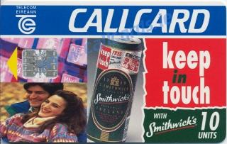 Smithwicks Callcard (front)
