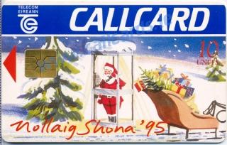 Christmas 1995 Callcard (front)