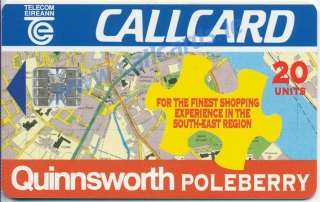 Quinnsworth Poleberry Callcard (front)