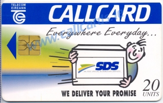 SDS (S.D.S) Callcard (front)