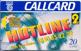 2FM Hotline Callcard (front)