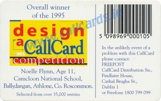 Design a Callcard 1995 Callcard (back)