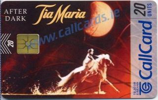 Tia Maria 1996 Callcard (front)