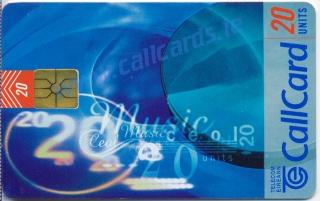 Music Callcard (front)
