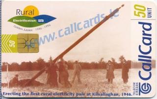 ESB (E.S.B.) Callcard (front)