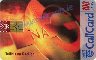 TnaG Teilifís na Gaeilge (TG4) Callcard (Front)