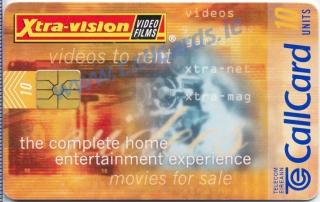 Xtra-Vision Callcard (front)