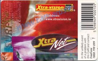 Xtra-Vision Callcard (back)