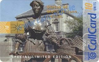 Callcard Collectors Fair 1997 - Molly Malone Callcard (front)