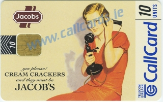 Jacobs Cream Crackers Callcard (front)