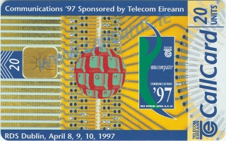 Communications 1997 Callcard (front)