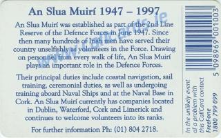 An Slua Muiri Callcard (back)