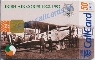 Irish Air Corps Callcard (front)