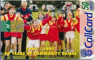 Community Games Callcard (front)