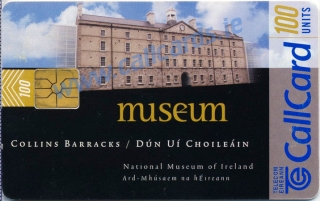 National Museum of Ireland Callcard (front)