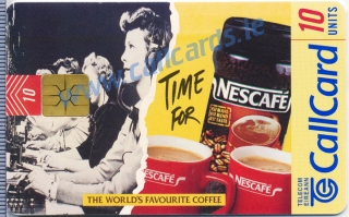 Nescafe Coffee Callcard (front)