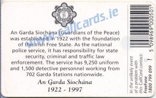 An Garda Siochana (back)