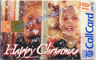 Christmas 1997 General Issue Callcard (front)