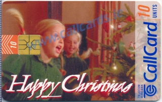 Christmas 1997 Limited Edition Callcard (front)